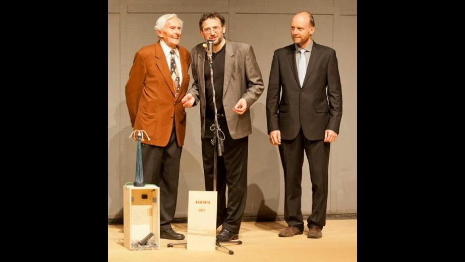 Předání ceny Kantuta 2013 paní Dině Štěrbové