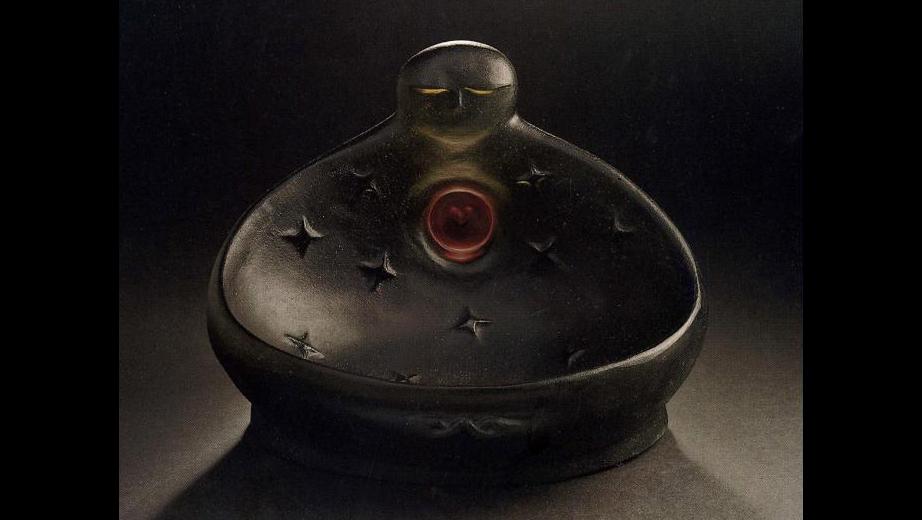Otevřená náruč- tavená plastika, 1998