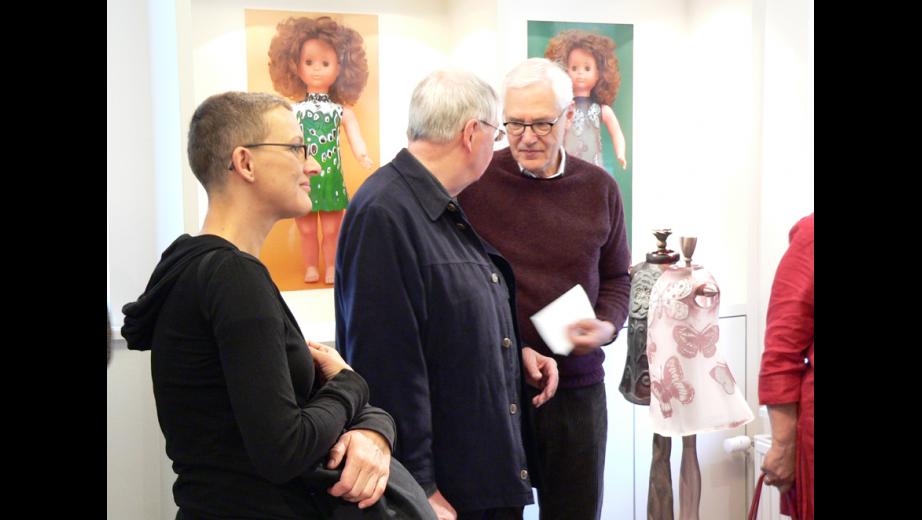 vernisáž výstavy Moje dětská duše- výstava v Glasgalerii Hittfeld u Hamburgu, 2011