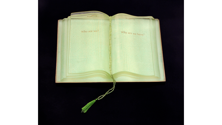 Translucent book
