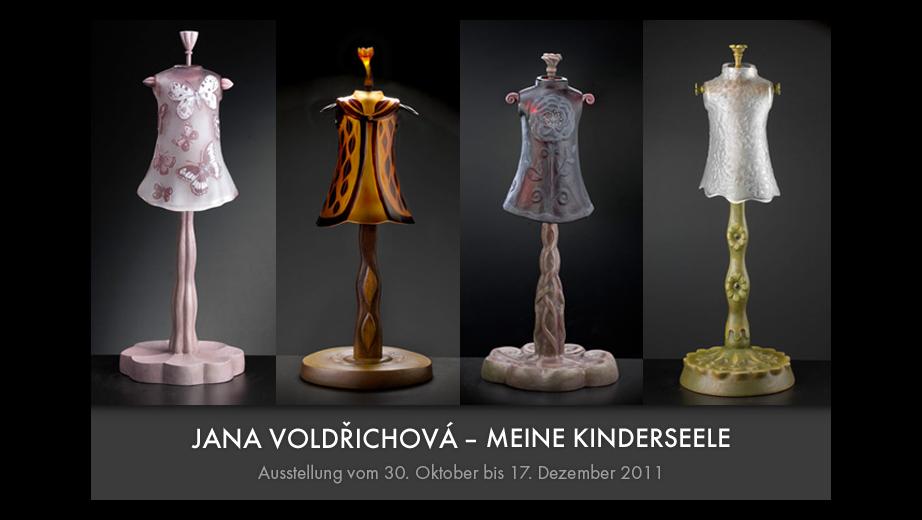 Moje dětská duše- výstava v Glasgalerii Hittfeld u Hamburgu, 2011